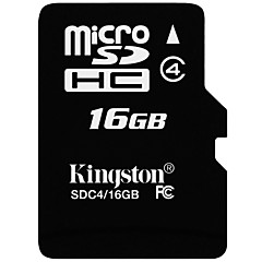 voordelige Micro SD-kaart-Kingston 16GB Micro SD Card TF Card geheugenkaart Class4