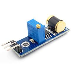 abordables Sensores-Módulo de sensor de detección de vibración de salida analógica d1208036 diy para (para Arduino)