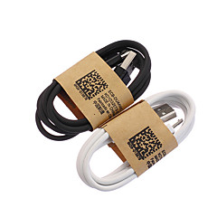 USB 2.0 Mikro USB 2.0 Normal Kabel Til 100 cm ABS