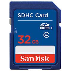 SanDisk 32GB SD Kort hukommelseskort Class4