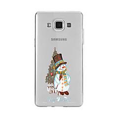 Case Kompatibilitás Samsung Galaxy A5(2016) A3(2016) Minta Hátlap Karácsony Puha TPU mert A9(2016) A7(2016) A5(2016) A3(2016) A9 A8 A7 A5