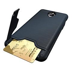 お買い得  その他のケース-ケース 用途 OnePlus / ワンプラス3 カードホルダー / スタンド付き バックカバー ソリッド ハード PC のために One Plus 3T / One Plus 3 / OnePlus