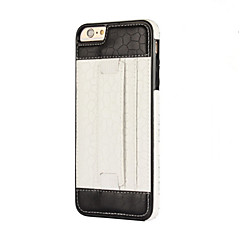 Недорогие Кейсы для iPhone 5-Кейс для Назначение Apple Кейс для iPhone 5 iPhone 6 iPhone 7 Бумажник для карт Кольца-держатели Кейс на заднюю панель Сплошной цвет