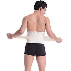 abordables Protecciones para Deporte-Cinturón Lumbar para Unisex Transpirable Amarillo Caqui