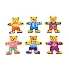 Educatief speelgoed Legpuzzel Speeltjes Beer Nieuwigheid Jongens Meisjes 1 Stuks
