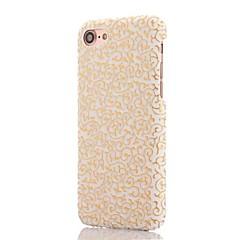 Для Защита от удара Кейс для Задняя крышка Кейс для Полосы / волосы Твердый Искусственная кожа для AppleiPhone 7 Plus / iPhone 7 / iPhone