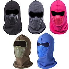 Ski Balaclave/Hat Unisex Thermal/Warm/Windproof/Fleece Lining Snowboard Cotton Red/Coffee Army Men Women Winter Neck Face Mask CS Hood Helmet Caps