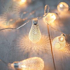Χαμηλού Κόστους Φωτιστικά λωρίδες LED-2m aa λειτουργία μπαταρίας οδήγησε χορδή led μεταλλικός σωλήνας στάμπα φώτα φώτα navidad luci nataleguirlande exterieur