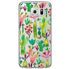 tanie Galaxy S6 Edge Etui / Pokrowce-Kılıf Na Samsung Galaxy S7 edge S7 Ultra cienkie Półprzezroczyste Czarne etui Dachówka Miękkie TPU na S7 edge S7 S6 edge plus S6 edge S6
