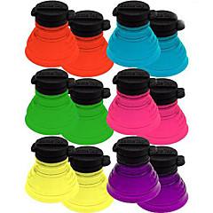 abordables Drinking Tools-6pcs conjunto de tapas de botellas reutilizables puede convertir refrescantes de soda toppers doble blister