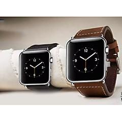 halpa Apple Watch-hihnat-Watch Band varten Apple Watch Series 3 / 2 / 1 Apple Rannehihna Perinteinen solki Nahka