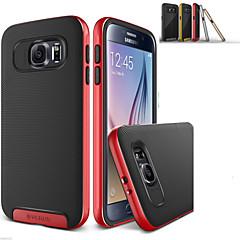 Varten Samsung Galaxy kotelo Iskunkestävä Etui Takakuori Etui Linjat / aallot Silikoni Samsung S6 edge plus / S6 edge / S6