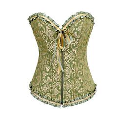 olcso Lolita divat-Fűző Klasszikus és hagyományos Lolita Zöld Lolita kiegészítők mert Szatén