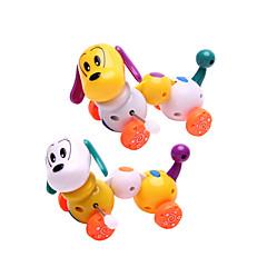 お買い得  ゼンマイ式おもちゃ-ゼンマイ式玩具 犬 プラスチック 男の子 女の子