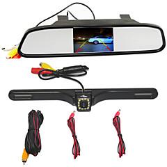 Недорогие Автоэлектроника-BYNCG WG34 480p Автомобильный видеорегистратор 170° Широкий угол 4.3 дюймовый TFT Капюшон с Режим парковки Автомобильный рекордер