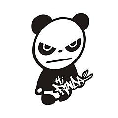 hesapli -komik merhaba panda araba sticker araba pencere duvar çıkartma araba styling