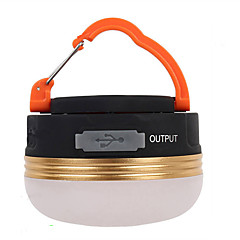 Φανάρια & Φώτα Σκηνής LED Lumens 3 Τρόπος LED Επαναφορτιζόμενο Μικρό Μέγεθος Εύκολη μεταφορά Ασύρματη Κατασκήνωση/Πεζοπορία/Εξερεύνηση