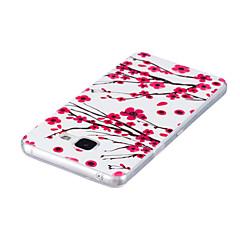 tanie Galaxy A5 Etui / Pokrowce-Kılıf Na Samsung Galaxy A5(2016) A3(2016) Świecące w ciemności IMD Etui na tył Kwiaty Miękkie TPU na A5(2016) A3(2016)
