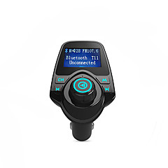Bluetooth transmițător FM card de suport tf, disc u, încărcător de mașină