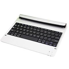 abordables Liquidación-El imán conecta el teclado bluetooth 3.0 para el ipad del aire (plateado)