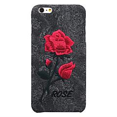 Назначение iPhone 8 iPhone 8 Plus iPhone 7 iPhone 7 Plus iPhone 6 Чехлы панели Защита от пыли Задняя крышка Кейс для Цветы Твердый PC для
