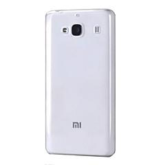 お買い得  Xiaomi ケース/カバー-のために Miケース クリア ケース バックカバー ケース ソリッドカラー ソフト TPU Xiaomi