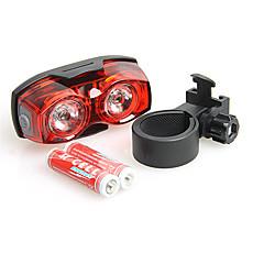 Kerékpár világítás Kerékpár hátsó lámpa - Kerékpározás Tompítható Csúszásgátló markolat Kis méret Szuper könnyű AAA Lumen Akkumulátor