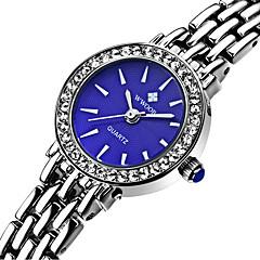 preiswerte Tolle Angebote auf Uhren-WWOOR Damen Modeuhr Wasserdicht Edelstahl Band Charme / Freizeit Silber / Sony S626 / Zwei jahr