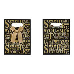 abordables Bolsas y Cajas-lureme el patrón de la letra del bowknot bolsa de regalo (1 unidad)