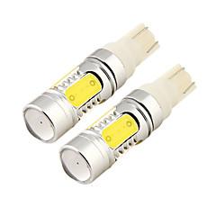 Недорогие Освещение салона авто-2pcs T10 Автомобиль Лампы 11W COB 1000lm 5 Светодиодная лампа Внутреннее освещение For Универсальный