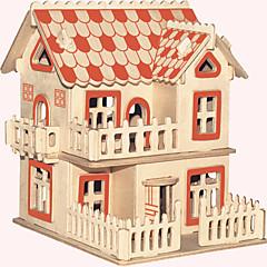 preiswerte -Holzpuzzle Berühmte Gebäude Chinesische Architektur Haus Profi Level Holz Weihnachten Karneval Geburtstag Europäischer Stil