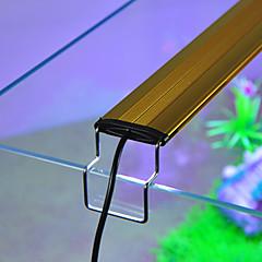 abordables Accesorios para Acuarios y Peces-Acuarios Luz LED Blanco / Azul Ajustable Lámpara led 220-240 V V Aluminio