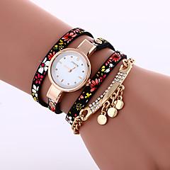 preiswerte Tolle Angebote auf Uhren-Damen Armband-Uhr Armbanduhren für den Alltag Leder Band Modisch / Elegant Schwarz / Blau / Grau / Ein Jahr / Tianqiu 377