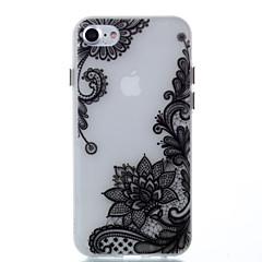 Назначение Чехлы панели Сияние в темноте Задняя крышка Кейс для Кружева Печать Мягкий Термопластик для Apple iPhone 7 Plus iPhone 7