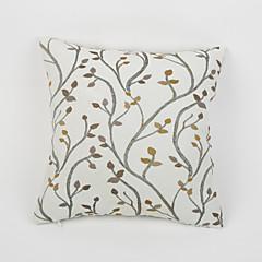 1 kpl moderni chenille kukka maata neliö tyynyliina vetoketjulla