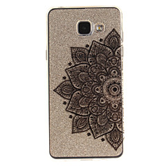hoesje Voor Samsung Galaxy A5(2016) A3(2016) IMD Transparant Patroon Achterkantje Bloem Zacht TPU voor A5(2016) A3(2016) A5 A3