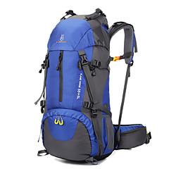 60 L Rucsacuri Pachete de Zi de Drumeții Călătorie Organizator rucsac Alpinism Sporturi de Agrement Camping & Drumeții VoiajImpermeabil