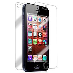 [2-Pack] Передняя и задняя Retina-экран протектор для iPhone 5/5S