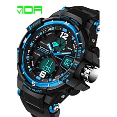 Pánské Módní hodinky Digitální hodinky Sportovní hodinky Hodinky k šatům Křemenný Digitální Kalendář Voděodolné Silikon Kapela Na běžné