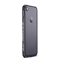 Недорогие Кейсы для iPhone 7-Кейс для Назначение IPhone 7 / iPhone 7 Plus / Apple iPhone 7 / iPhone 7 Plus Матовое Бампер Панк Твердый Алюминий для