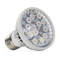 E14 GU10 E27 Luz de LED para Estufas 12 LED de Alta Potência 290-330 lm Branco Quente Vermelho Azul UV (Luz Negra) K V