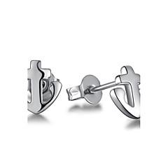 tanie Kolczyki-Kolczyki na sztyft Biżuteria Posrebrzany Stop Kotwica Biżuteria Silver Ślub Impreza Codzienny Casual Biżuteria kostiumowa