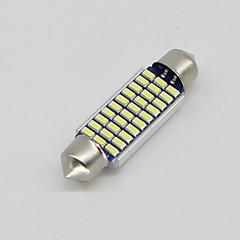 Недорогие Освещение салона авто-SO.K 10 шт. T11 Автомобиль Лампы 3 W SMD 3014 300 lm Светодиодная лампа Внутреннее освещение