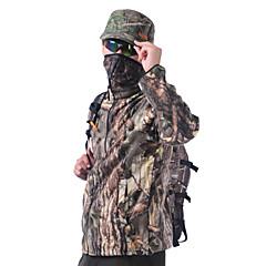 Ανδρικά Γυναικεία Γιούνισεξ Μακρυμάνικο Μπουφάν φλις για κυνήγι Διατηρείτε Ζεστό καμουφλάζ Μπολύζες για Κυνήγι M L XL XXL