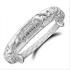 olcso Karkötők-s925 feng fu ezüst karkötő esküvői party elegáns női stílusban