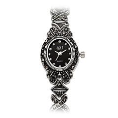 Dame Modeur Armbåndsur Japansk Quartz Japansk Quartz Vandafvisende Chok Resistent Imiteret Diamant Legering Bånd Vedhæng Vintage Afslappet