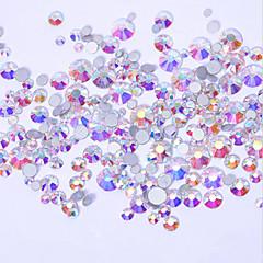 500 Nagelkunst decoratie Strass parels make-up Cosmetische Nagelkunst ontwerp