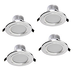 cheap Indoor Lights-ZDM® 4pcs 5 W 400-450 lm 5 LED Beads Dimmable LED Downlights Warm White Cold White Natural White 220 V 110 V 12 V Cabinet Ceiling Showcase / 4 pcs