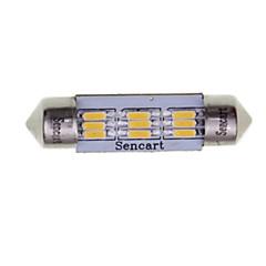 preiswerte Autozubehör-SENCART 2pcs 39mm Auto Leuchtbirnen 3W SMD 3014 180-220lm 9 Außenleuchten