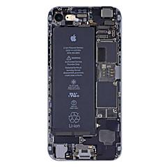 Για iPhone X iPhone 8 iPhone 7 iPhone 7 Plus iPhone 6 Θήκες Καλύμματα Εξαιρετικά λεπτή Με σχέδια Πίσω Κάλυμμα tok Λέξη / Φράση Μαλακή TPU